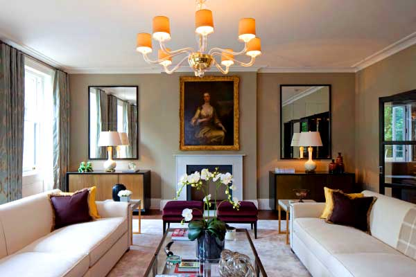 Clarke services group high end residential 04 for Residential interior designers london